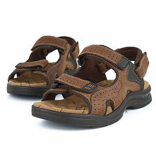 2017 Leather Men's Sport Beach Sandals Fisherman Breathable Casual Shoes New