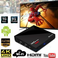 MX9 Pro Smart TV Box 8G 4K Quad Core Android 7.1 TV Box Free Movies+Keyboard Lot