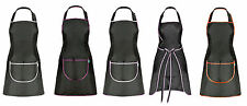 Apron Ven Pocket Craft Baking BBQ Chefs Kitchen Cooking Bar Butchers Barbers