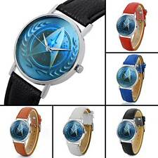 Star Trek Theme Vintage Quartz Watch Leather Analog Wristwatches Luxury Band New