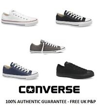 NEW Mens Ladies Converse All Star Ox CT Lo Trainers UK Size 4 5 6 7 8 9 10 11