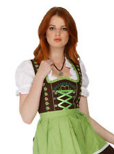 1307 - 3 pc Dirndl Dress Trachten Oktoberfest 4,6,8,10,12,14,16,18,20,22