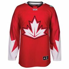 Men's Canada World Cup of Hockey Premier Jersey Adidas NHL Red - NEW