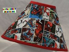 SPIDERMAN Lamp Shade (Made by LBC)  SHIPS WITHIN 24 TO 48 HOURS!!!