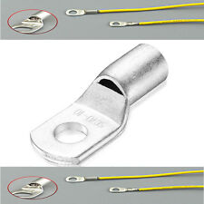 High Quality Copper Tube Terminals Battery Cable Lugs For 8AWG-4/0AWG Cable Wire