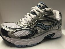 Saucony Grid ladies runners white/navy size 3 or 8 uk Clearance rrp £64.99