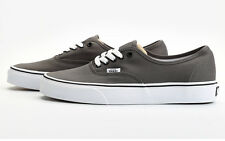 Vans Classic Authentic Skate Shoe Men Women Unisex Canvas - Pewter/Black