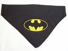 Batman dog bandana slide on collar