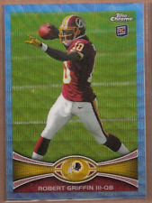 2012 Topps Chrome Blue Wave Refractors #BW200 Robert Griffin III Rookie Card RC