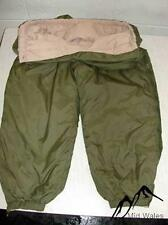 British Military Army Issue Softie Softy Trousers Thermal Reversible Green Sand