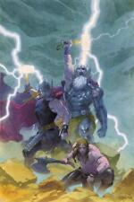 Thor: God of Thunder #9 Cover: Odin, Thor Poster by Ribic, Esad Wall Decor Home