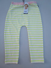 Baby girls Bonds stretchies stripe pants Size 000 00  0 & 2   BNWT