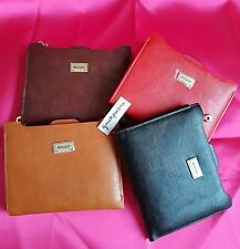 Brand New Ladies Pu Leather Bogesi Id/Credit Card Holder Bifold Wallet