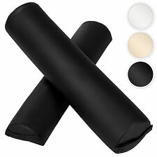 Full round + half round bolster cushion for massage table knie roller pillow