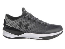 NEW MENS UNDER ARMOUR CHARGED CONTROLLER BASKETBALL SHOES TRAINERS RHINO GREY