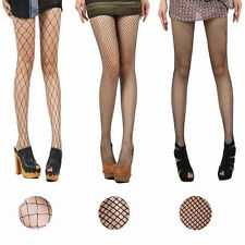 Fishnet Stocking Sexy Cross Tights Seamless Nylon Mesh Hollow Out Pantyhose S-L