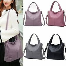 Fashion Women PU Leather Handbag Shoulder Bag Lady Purse Messenger Tote Satchel