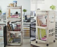 Tower Plastic Storage Unit Large 3/4 Drawer Convenient For Office & Home