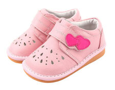 "Freycoo ""Mindy"" Pink Leather Girls Toddler Shoes"