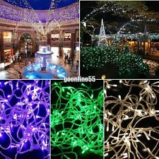 10M 100LED Bulbs Christmas Fairy Party String Lights Waterproof EA901