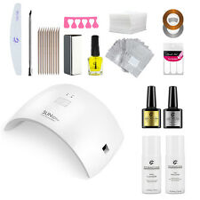 NEW Pro Gel Nail Kit with 36W LED Lamp & Choice of Gels