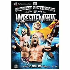 WWE - The Greatest Superstars of Wrestlemania (DVD, 2008, 2-Disc Set)