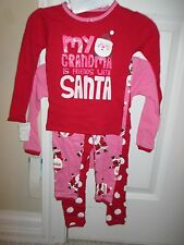 NWT CARTERS TODDLER BABY GIRL CHRISTMAS PAJAMA SETS 2T NEW FREE SHIPPING