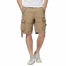 St George By Duffer Mens Natural Cargo Shorts From Debenhams