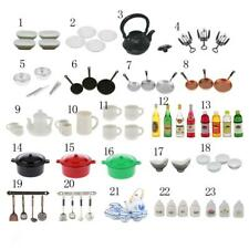 1:12 Dollhouse Miniature Kitchenware Tableware Accessories Doll House Decor Kits