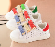 Toddler Kids Boys Girls Summer Casual Shoes Sandals Flat Sports Sneakers Size