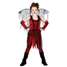 Ladies Vampire Fairy Fancy Dress Costume for Dracula Vamp Halloween Cosplay Outf