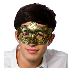 Gladiator Eye mask Antique Fancy Dress Accessory for Sparticus Centurion Roman S