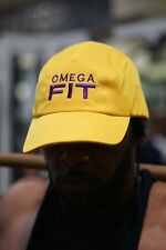 Omega FIT 5-Panel performance cap, gold - Que Dawg Ques Omega Psi Phi O?F