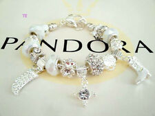 Authentic Pandora Sterling Silver Bracelet with Heart Love Gift