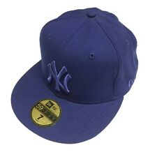 7 Size * New Era MLB New York Yankees Basic Navy Blue 59Fifty Fitted Hat Cap