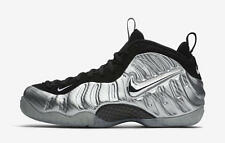 Nike Air Foamposite One PRM Silver Surfer Gold Bronze Mirror Fleece 616750 004