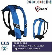 Life Saving Jacket CE Certified  Neck Vest Manual Inflatable 150N for Adult