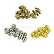 10 Sets Strong Magnetic Clasps Jewelry DIY Necklace Bracelet Findings with Loops