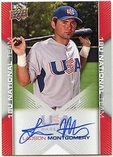 '09 UD USA Box Set Ladson Montgomery 18U National Team Autos & Relics (You Pick)