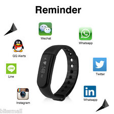 OLED Smart Watch Waterproof HeartRate Monitor Bluetooth Fitness Tracker Call/SMS
