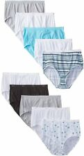 Hanes Women's Cotton Brief Panties (Pack of 10)