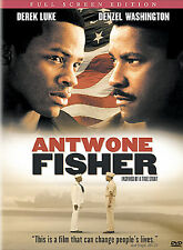ANTWONE FISHER DVD ~Sealed, NEW (Full) Denzel Washington ~inspired by true story