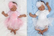 Tulle Summer Party Lace Dress Christening dress sz. 1 month 62 68 74 Englandmode