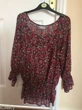 Ladies Top Excellent Condition Hardly Worn Size 14 - Wallis