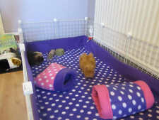 """Fleece cage liner with 6"""" sides 2x3.5 C&C 2 layers of fleece with uhual inside"""