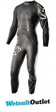 *2015 2XU MENS V:3 Velocity TRIATHLON Wetsuit in Black/Silver MW3417