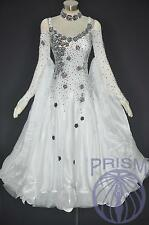 Modern Ballroom Competition Dress Standard Waltz Tango Handmade Dance Dress 2253