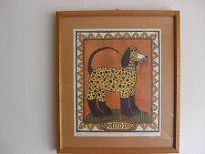Mary Hamilton Fine Art Lithograph Signed & Numbered  Spotted Dog 45/50 Very Nice