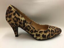 New Ladies Leopard Print Court Shoes by Fiore Select Size 3's - 5's