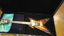 Dean Solid Body Razorback Explosion Graphic Electric Guitar